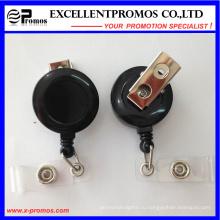 Пластиковый выдвижной держатель бейджа с пластиковым чехлом (EP-BH112-118)
