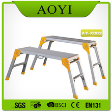 portable folding work platform