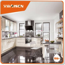Long lifetime factory directly prefab kitchen furniture for Europe market