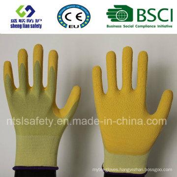 Super Soft Foam Latex Coated Gardening Work Gloves