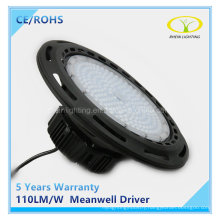 100W Industrial UFO LED High Bay Light with Meanwell Driver