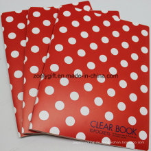 A4 Clear Book Pockets File Folder Halter Clear PP Dokument Tasche