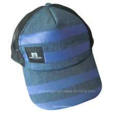 Popular Denim Trucker Cap with Soft Net