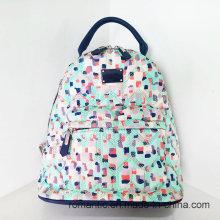 Promocional Lady Nylon mochila mujeres viajando bolsa (NMDK-040601)