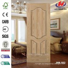 JHK-S02 JAS 4.5mm Precio Especialmente Hueco Hoja De Roble HDF Laminado Panel De La Puerta