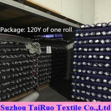 Tafetá 100% poliéster para tecido forro de vestuário