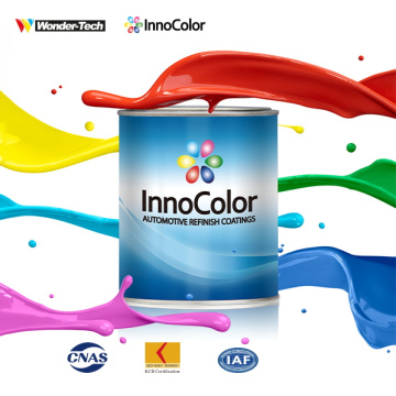 InnoColor 1K Basecoat Red Medium Aluminium Autolack