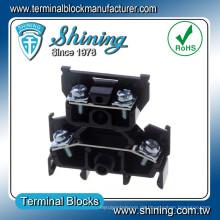 TD-015 600V 15 Amp Schiene Typ Lautsprecher Doppelschicht Drahtverbinder