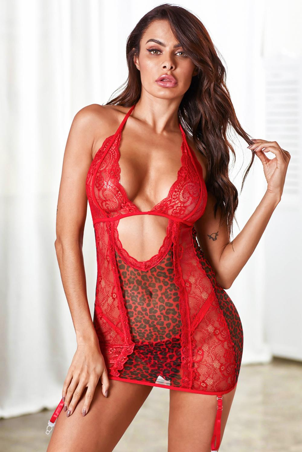 Red Lace Lingerie