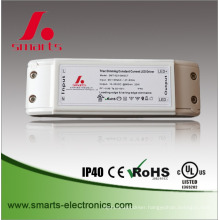 5 years warranty 28w 350ma dimmable constant current dc triac led driver for panel