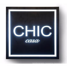 Double Sided Outdoor 3D Fabric LED Advertising Light Box