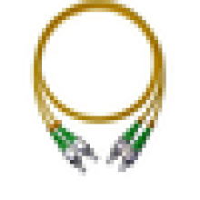 Cordon de connexion fibre optique FC, cordon de raccordement fibre optique FC APC avec faible perte d'insertion