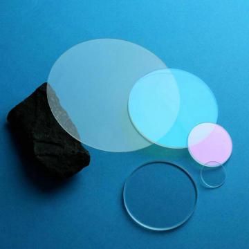 Folha de cristal de safira personalizada janela de vidro