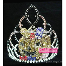Preciosa princesa de cristal princesa princesa tiara de Halloween