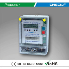 DDS1977 Однофазная электронная абстракция - защита от электричества Watt-Hour Meter