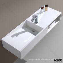 Articles sanitaires vanité pas cher salle de bains lavabos à vendre bassin de surface solide
