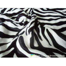 Cebreado Patterns Printed velvet Fabric