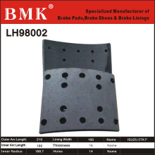 High Quality Brake Lining (LH98002) for Isuzu