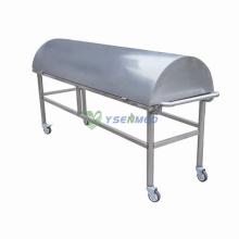 Chariot de cadavre de mortuaire médical (avec couverture)
