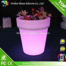 LED PE Water Proof Glowing Flower Pot
