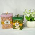 Customized High Quality Chinese Tea Tin Box, caixa de lata para chá