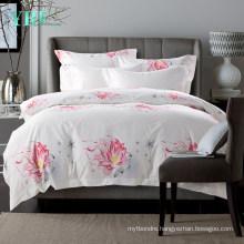 Hotel Supplys Fashion Style Deep Pocket Hotel Linen Super Soft for King Bed