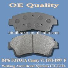 D476 Marke Bremsbelag für camry V1 1991-1997