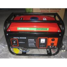Générateur d'essence portatif 2kVA moteur 6.5HP à démarrage électrique (ensemble)