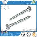 Steel Coach Screw Per DIN571