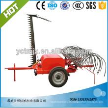 Granja de rastrillo de heno y cortadora de barra de corte para 18-40hp tractor para la venta