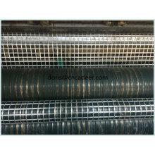 Warp gestrickte Polyester Geogrid mit PVC-Beschichtung