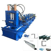 Hot sale automatic c z purlin machine
