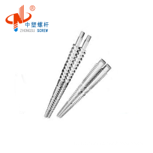 80/156 conical twin screw barrel for PVC profile from Chinese supplier