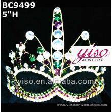Máscara coroa e tiara
