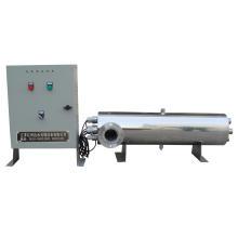 Stérilisateur UV de logement d'acier inoxydable de désinfection de l'eau de piscine
