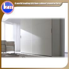 Armoire en bois blanc brillant pour meubles d'hôtel (personnalisés)