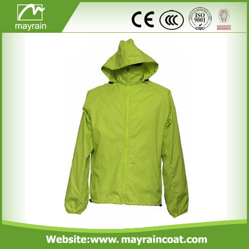 Fashionable Waterproof Rain Jacket