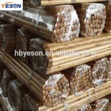 Mango de escoba de madera barnizada / mango de madera