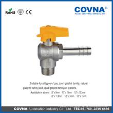 1/2 válvula de bola de latón con bloqueo Válvula de bola de gas forjado de latón válvula de bola de dibujo