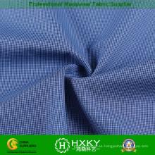 Seda de seda del poliéster Tela con el modelo de los controles para la chaqueta