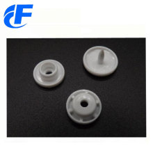Four parts plastic snap button for children's wear