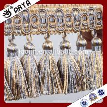 2016 Neue chinesische Handwerksprodukte für Hausdekoration und Vorhangzusätze der langen Handmake Perlen Fransen