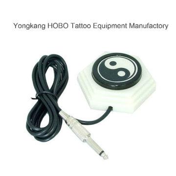 Pedal tipo tatuaje máquina tatuaje fuente de alimentación interruptor de pie