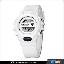 Relógio digital personalizado de cor brilhante de boa qualidade