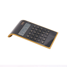 Dual power 10 digital electronic calculator