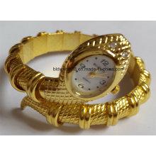 Quartz Gold Bangle Bracelet Wrist Watches for Ladies