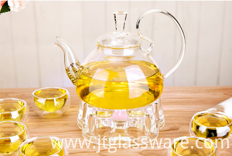 Glass Teapot Gift Set