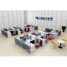 Mobilier de bureau en gros L Workstation Workstation moderne (HF-YZX056)