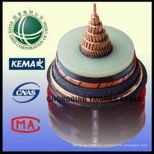 Best Seller Cable de alimentación sin halógeno 220kV CU / XLPE / PVC de la rejilla del estado