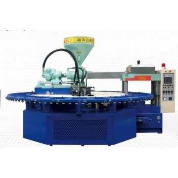 Machine automatique à chaussures en mousse à injection en plastique PVC en PVC